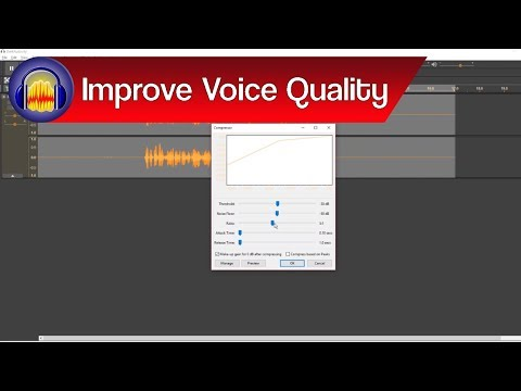 Audacity: How to Make Your Voice Sound Better Generally | Improve Your Voice Quality