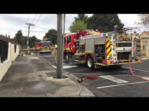 MFB - At A BA Stage One Fire