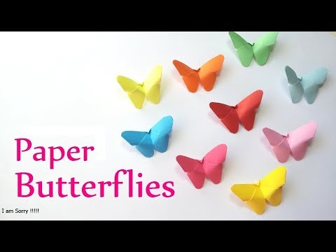 How to make a butterfly ?