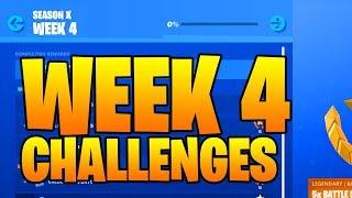 Download SEASON 10 WEEK 4 CHALLENGES LEAKED FORTNITE ( SEASON X ) Smash And Grab Video