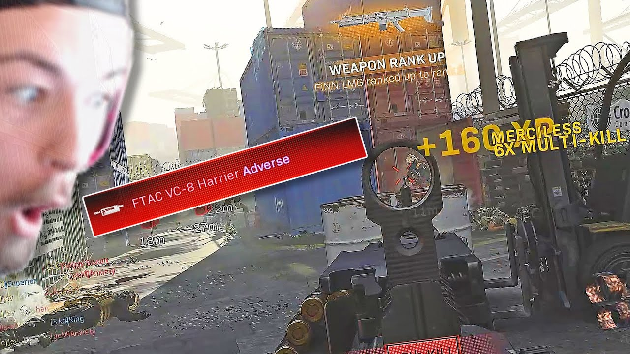 The NEW RAPIDFIRE FINN LMG is MADE for SHIPMENT