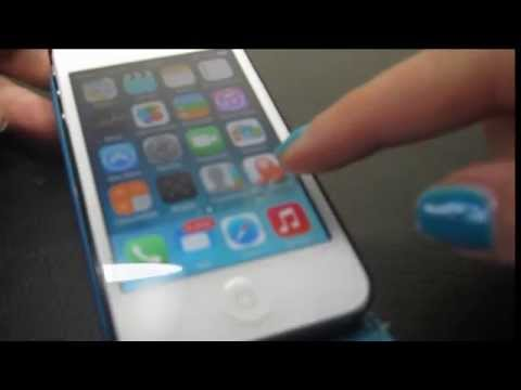 Como DESBLOQUEAR VOICEOVER Turn Voice Over OFF how to use it navigate Iphone ios7 ios8.