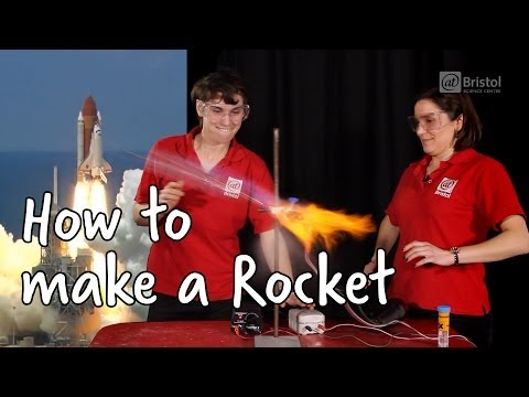 How To Make A Rocket | Do Try This At Home | We The Curious