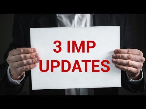 3 Important Updates (Hindi)