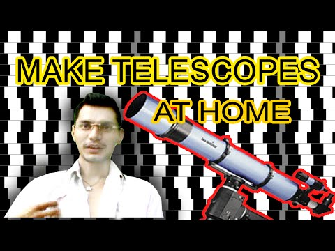 How to make home-made Telescope in $2 ?