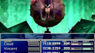 Final Battle Part 1 - Jenova Synthesis