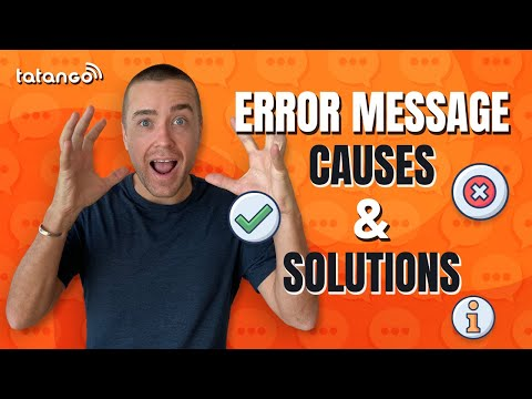 SMS Short Code Error Messages I Causes & Solutions
