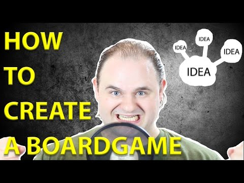 How to Create a Board Game - Brainstorm and Concept Phase
