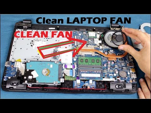 How to Clean your laptop's Fan 2018 Solve overhearing