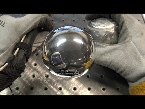 The American Fabricator Polished Aluminum Ball Challenge - 1/8