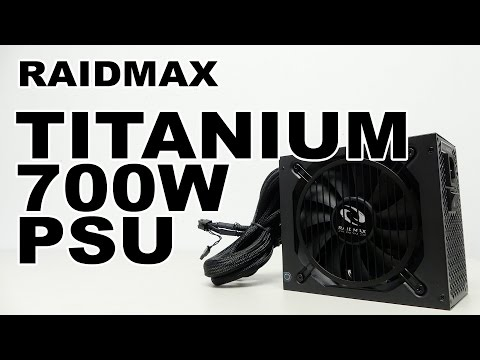Raidmax RX-700AT Monster Titanium 700W Power Supply Review