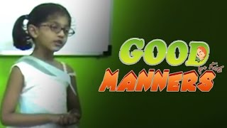 Good manners speech