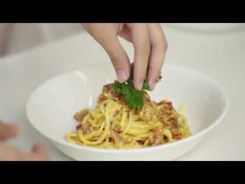 How to make Salted Egg Yolk Pasta