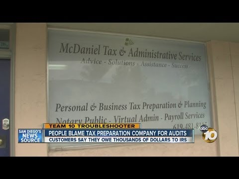 Customers say San Diego tax preparation business resulted in audits