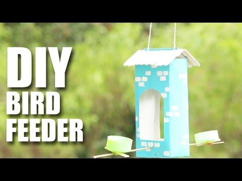 How to make a DIY Bird Feeder
