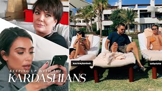 Kourtney's Close Relationship With Scott & Sofia Confuses The Rest of the Family | KUWTK | E!