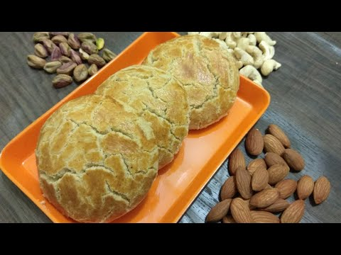 Nankhatai without oven ||Dry fruit Biscuits ||Nan khatai/Biscuits in microwave dry fruit Nankhatai