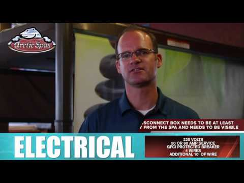 Electrical Requirements | Arctic Spas