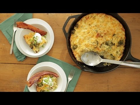 Cheesy Broccoli and Potato Casserole - Everyday Food with Sarah Carey
