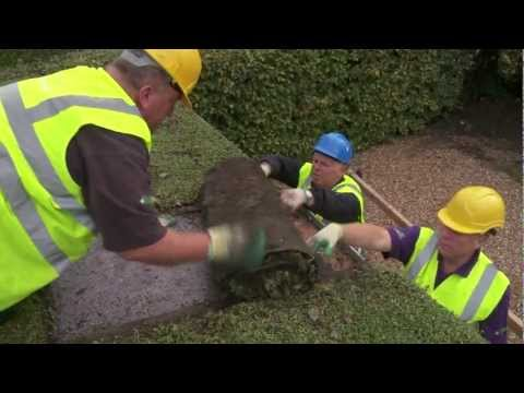 Enviromat - How to install a green roof