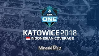 🔴LIVE: TEAM LIQUID vs VICI GAMING   @ESL Katowice 2018 Group Stage Day 5 - Indonesian Coverage
