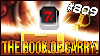 The Book Of Carry! - The Binding Of Isaac: Afterbirth+ #809