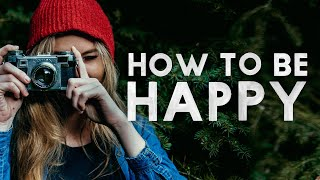 How to be HAPPY and PRODUCTIVE in your photography