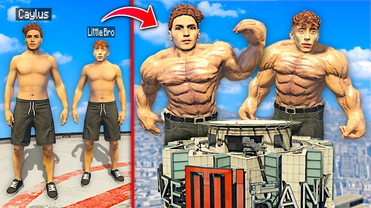 Upgrading To Be The STRONGEST MEN In GTA 5 RP.. (Mods)