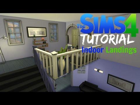Sims 4 Tutorial #4 - Indoor Landings