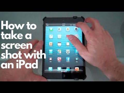 Taking a screen shot with your ipad mini tutorial