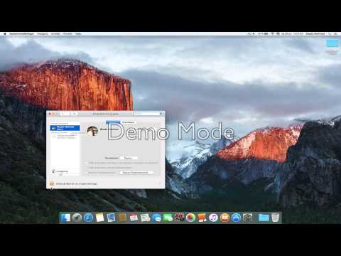 Mac: How to put your name on mac menubar