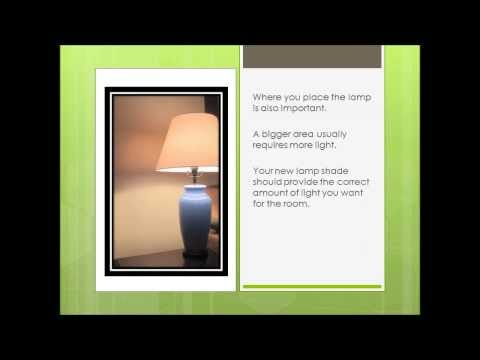 Choosing the Best Lamp Shades for your Room