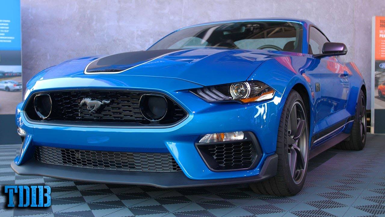 The 2021 Mustang Mach 1 Is Just a New Boss 302