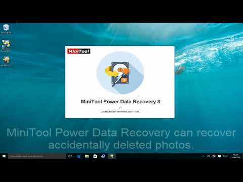 Mistakenly  Deleted Photos Recovery -MiniTool Power Data Recovery v8.0