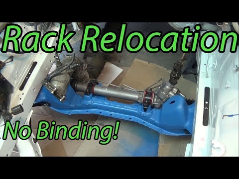 240sx Steering Rack Relocation
