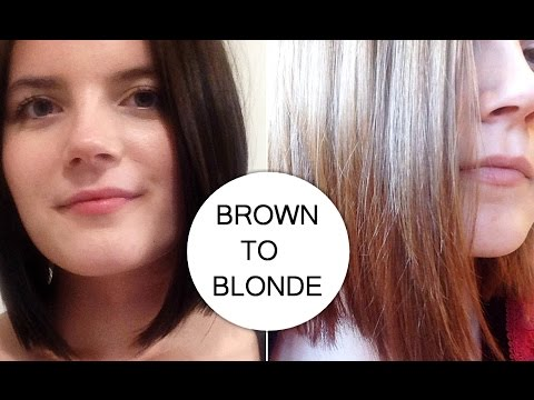 HOW I WENT FROM DARK BROWN TO MEDIUM HONEY BLONDE