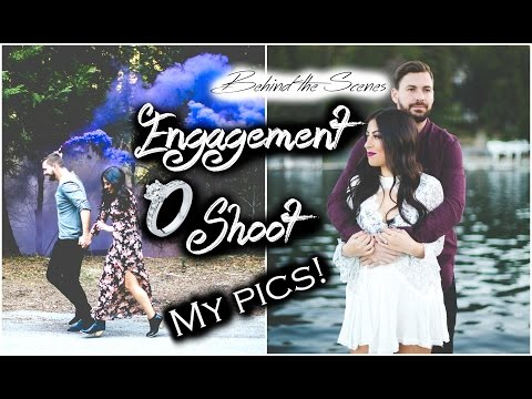 Get Ready with Me: Engagement Photo Shoot + My Pics