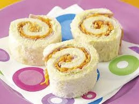 How to make pinwheel sandwich at home easily