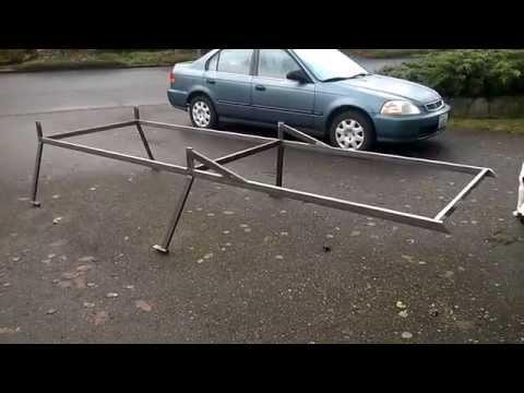 My Custom Toyota Truck Lumber Rack
