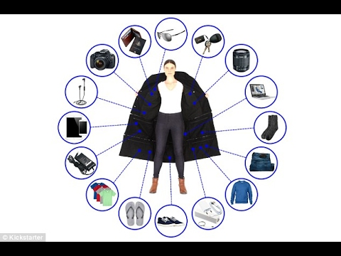 Airport Jacket has enough pockets to hold 15kg of items : 14 deep pockets : Avoid excess charges