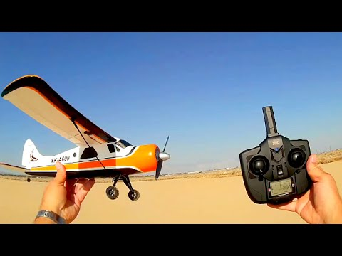XK DHC-2 A600 RC the Easiest RC Airplane to Fly
