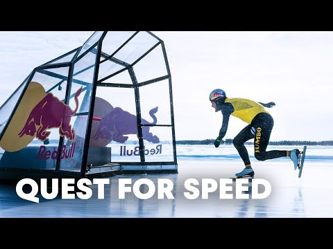 Quest for Speed: speed skating World Record with Kjeld Nuis.