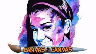 Bayley hugs the canvas: WWE Canvas 2 Canvas