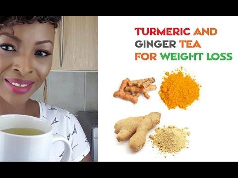 Turmeric and Ginger Tea for Weight loss by Temiblogtv
