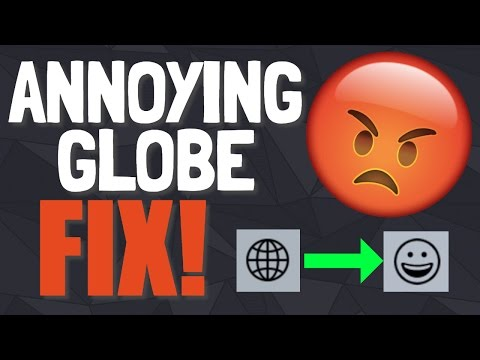 How to Change Globe Icon on Text Message Keyboard back to Emoji Icon after iOS 10 iPhone Update!