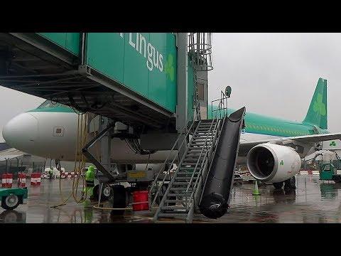 Aer Lingus Airbus A320-214 | Dublin to Amsterdam *Full Flight*