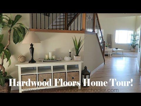 Putting in Hardwood Flooring!