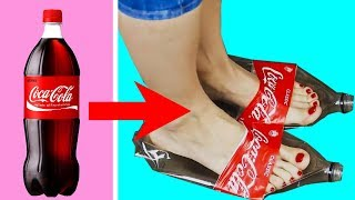 Trying 35 BEST RECYCLING LIFE HACKS by 5 Minute Crafts