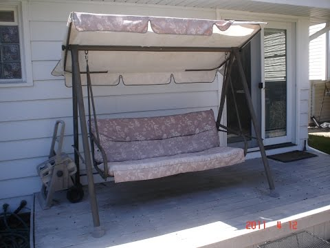 Courtyard Creations Patio Swing Cushion Replacement