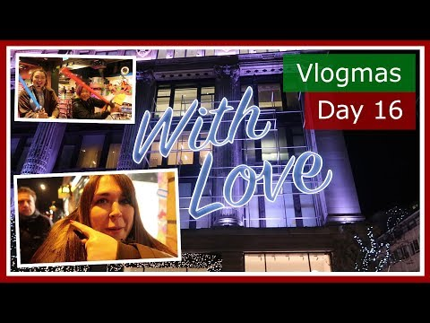 Vlogmas 2017 Day 16 | Guess the price of the random item in Selfridges London | The British Life